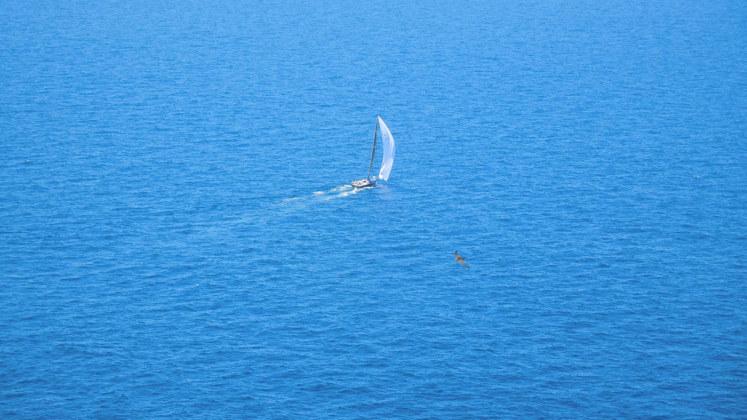 море яхта