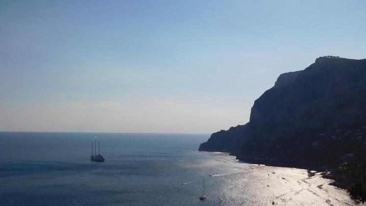 яхта море италия