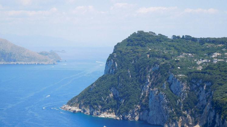 море гора Италия Неаполь