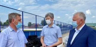 Физкультурно-оздоровительный комплекс открытого типа в селе Криводановка