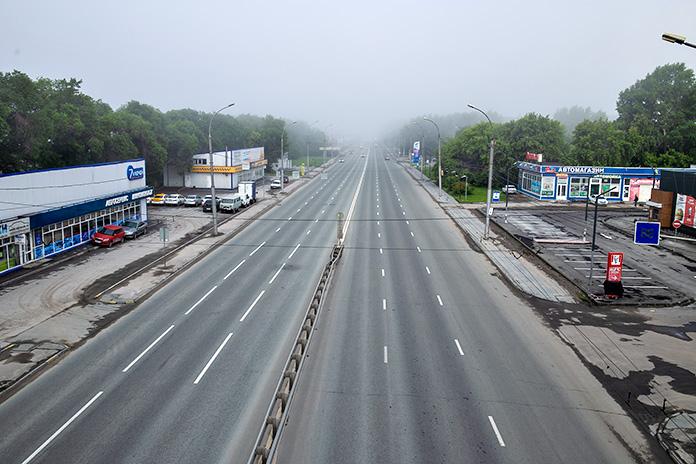 ул. Станционная туман