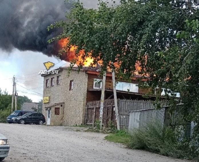 Пожар, Хуторок