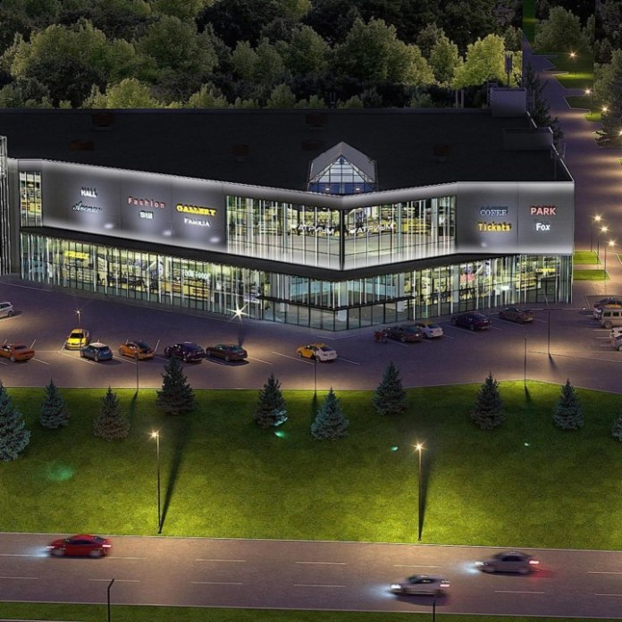 Миниатюра для: На базе здания «Мегаса» на Ипподромской в Новосибирске откроется новый торговый центр