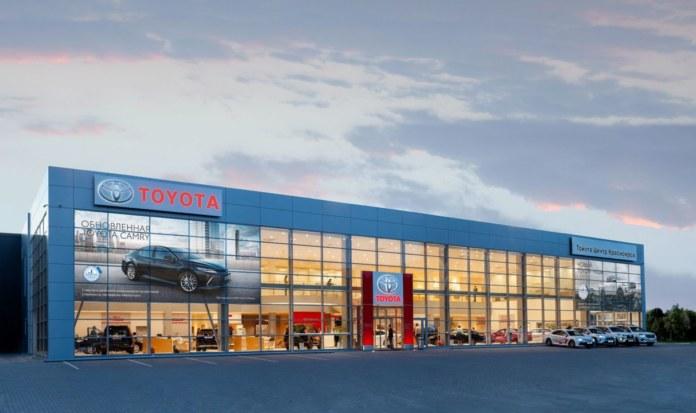 Миниатюра для: В Красноярске открылся обновленный полнофункциональный дилерский центр Toyota