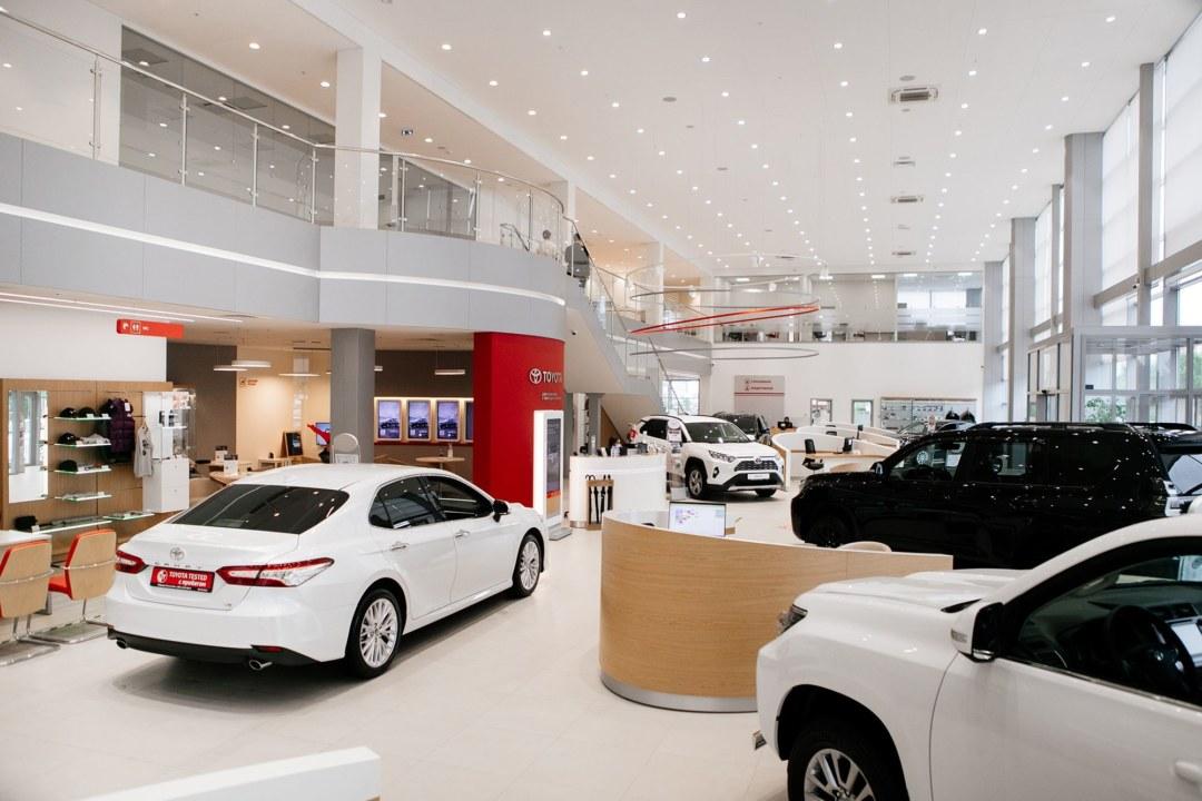 В Красноярске открылся обновленный полнофункциональный дилерский центр Toyota - Фотография