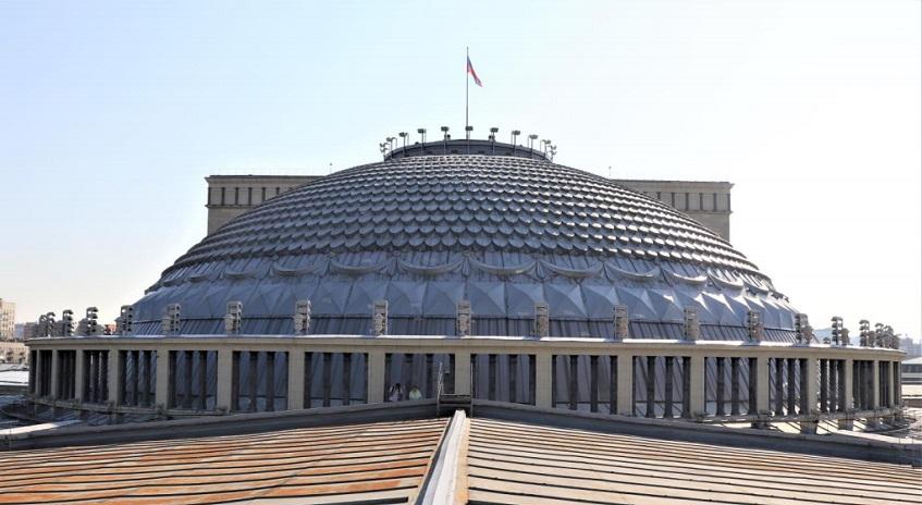 Ремонт купола Новат Новосибирск