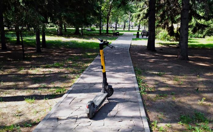 Миниатюра для: Где можно кататься на электросамокатах в Новосибирске