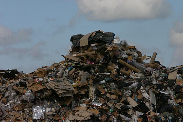 мусорный полигон