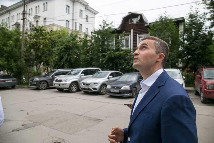 Сергей Соколов на ул. Депутатская