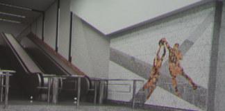 фотография макета оформления станции Спортивная