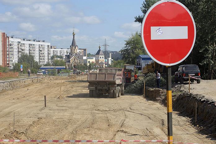 Полукилометровый участок соединит 3 улицы: Гребенщикова, Тюленина и Фадеева