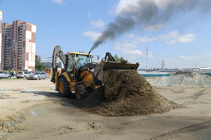 масштабные строительные работы на ул.Мясниковой