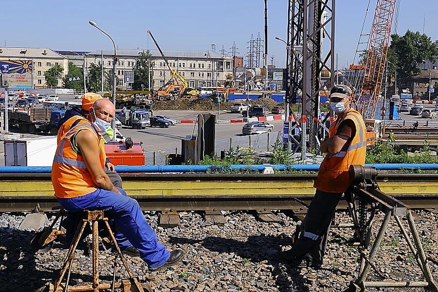 Железнодорожники работы ремонт железнодорожные пути