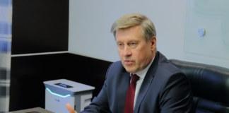 Анатолий Локоть мэр Новосибирска