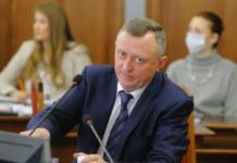 Заместитель губернатора Новосибирской области Сергей Нелюбов