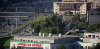 Рядом с региональным центром волейбола в Новосибирске по улице Ипподромской готовят территорию к застройке