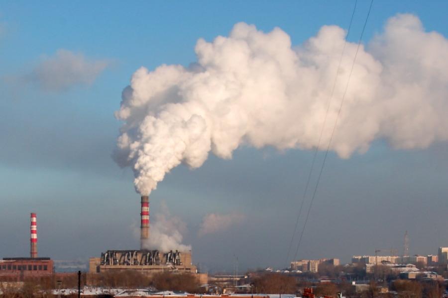 Загрязнения, выбросы, труба