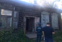 Обрушение крыши дома на улице Панфиловцев, 65