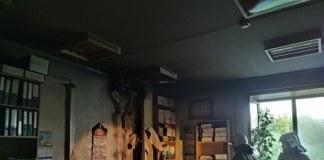 Пожар в детской больнице Новосибирска