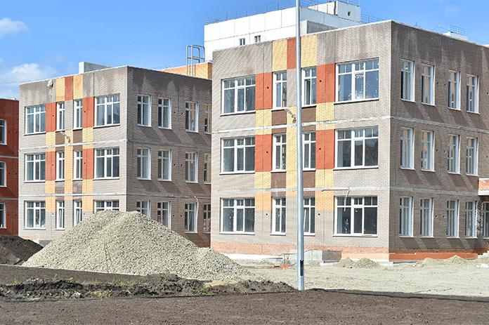 строительство детсада в новосибирском микрорайоне «Просторный»