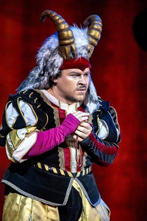 Роль Риголетто в одноименной опере Джузеппе Верди