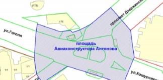 В Новосибирске приступили к созданию площади Антонова