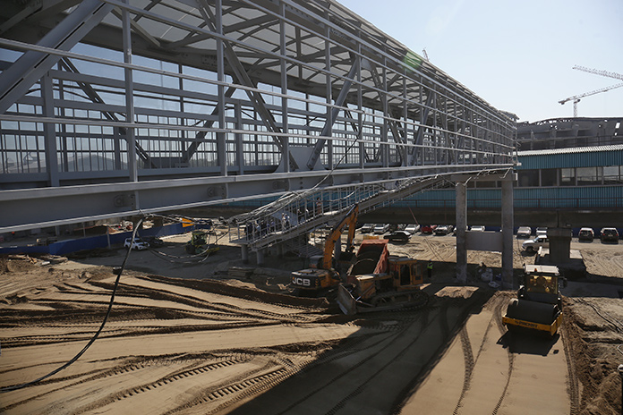 Как продвигается возведение новых инфраструктурных объектов левого берега Новосибирска?