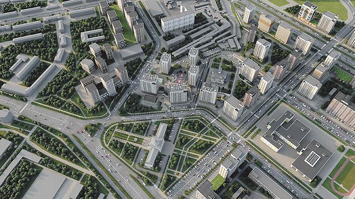 в районе бывшего городского аэропорта на площади 215 га вырастет новый жилой комплекс «Легендарный-Северный»