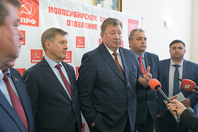 Коммунисты обсудили проблемы сельских территорий в Новосибирской области