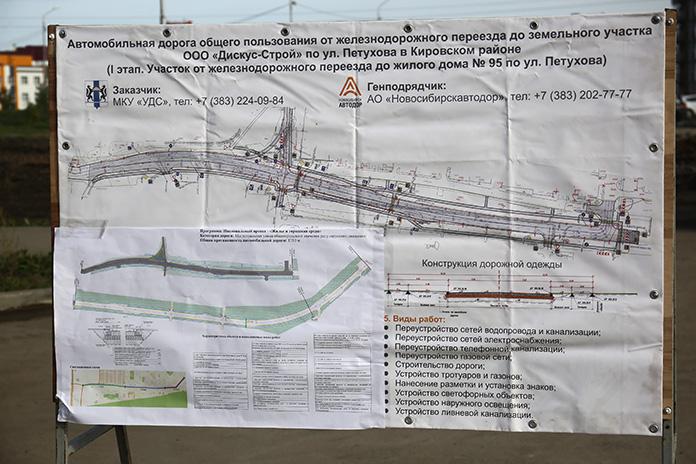 план новой дороги