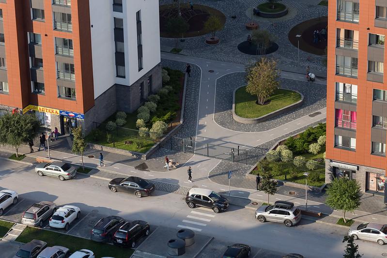 Как меняются придомовые территории в Новосибирске - Изображение