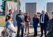 памятник ВОВ с селе Поваренка