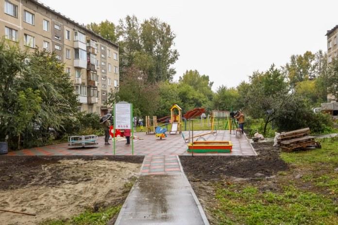 ЕР детские площадки