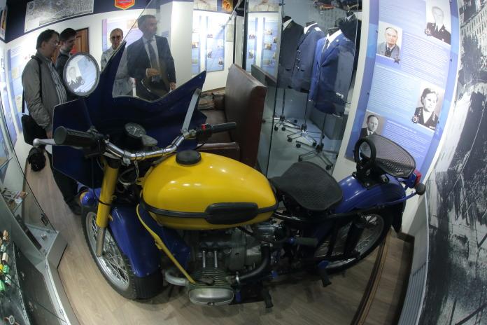 Мотоцикл следователя Василия Животова