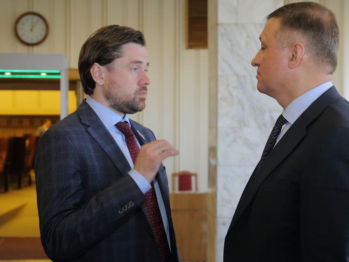 Александр Аксёненко и Дмитрий Савельев