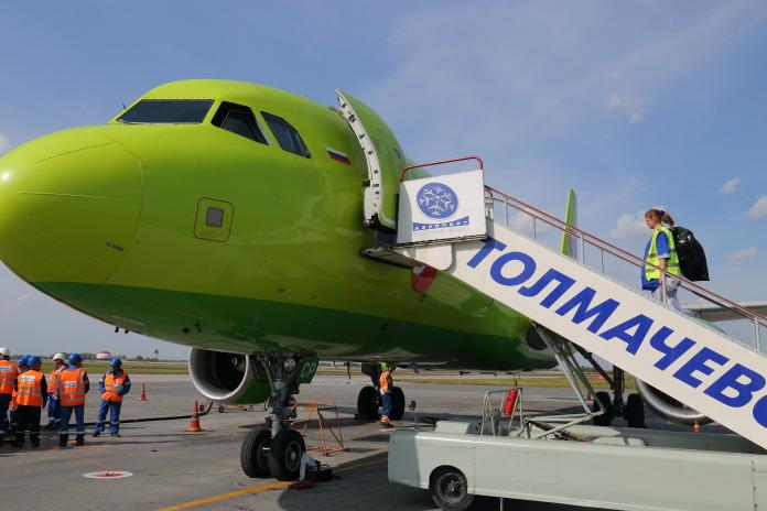 S7 Airlines аэропорт Толмачево Новосибирск