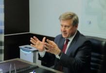 пресс-конференция мэра Новосибирска Анатолия Локтя