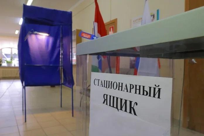 голосование выборы Избирательный участок Новосибирск