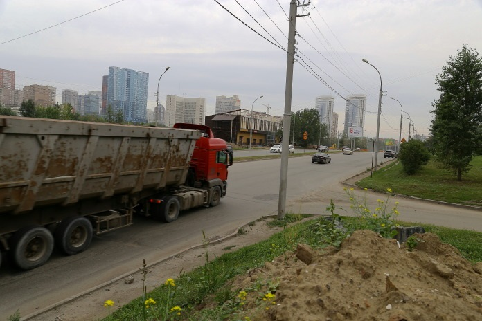 Ремонт улицы Ипподромской в Новосибирске