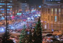 Мэрия Новосибирска купит к Новому году гирлянды на 3 млн рублей