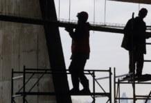 Работа заключённых на строительстве ЛДС в Новосибирске