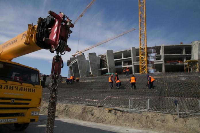 Миниатюра для: В 10 районах Новосибирской области объемы строительства снизились на 50%