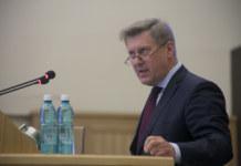 Мэр Новосибирска Анатолий Локоть в Заксобрании