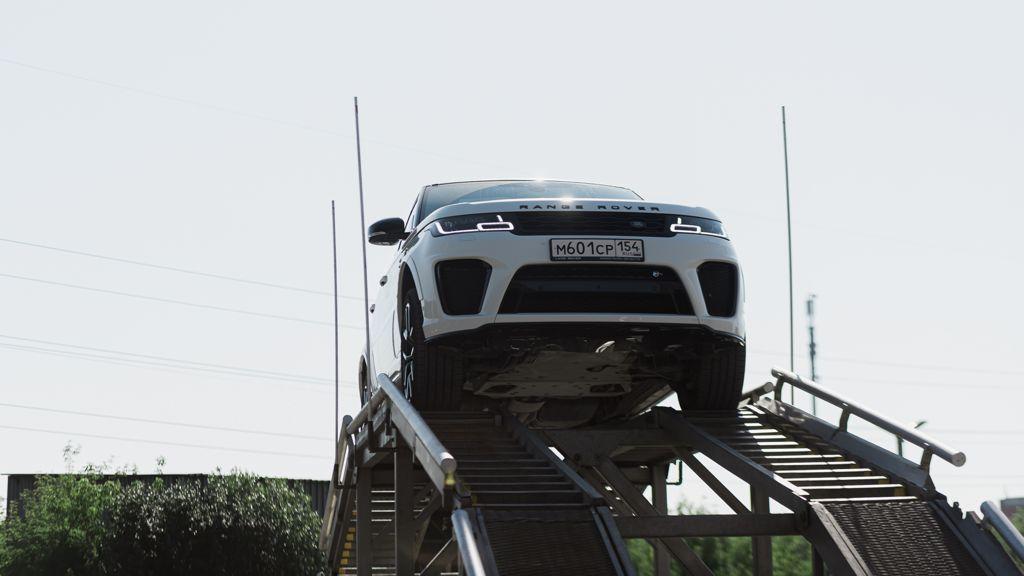 В Новосибирске прошло мероприятие Jaguar и Land Rover в формате Expierence - Фото