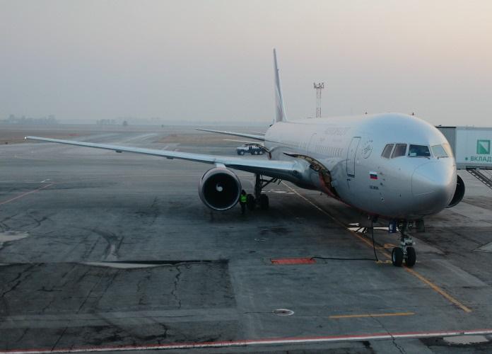 Миниатюра для: Несколько самолетов не приземлились в Новосибирске из-за сильного тумана