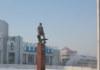 площадь Маркса памятник Покрышкину Новосибирск