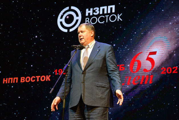 Юбилей «НЗПП Восток» Сергей Сёмка