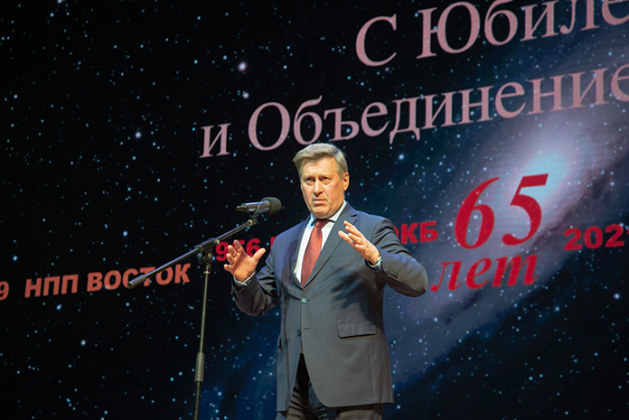 Юбилей «НЗПП Восток» Анатолий Локоть