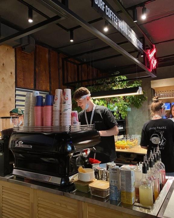 Миниатюра для: В Новосибирск выйдет федеральная сеть кофеен Surf Coffee