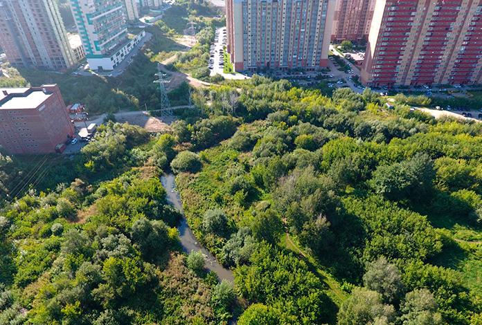 Территория будущего парка